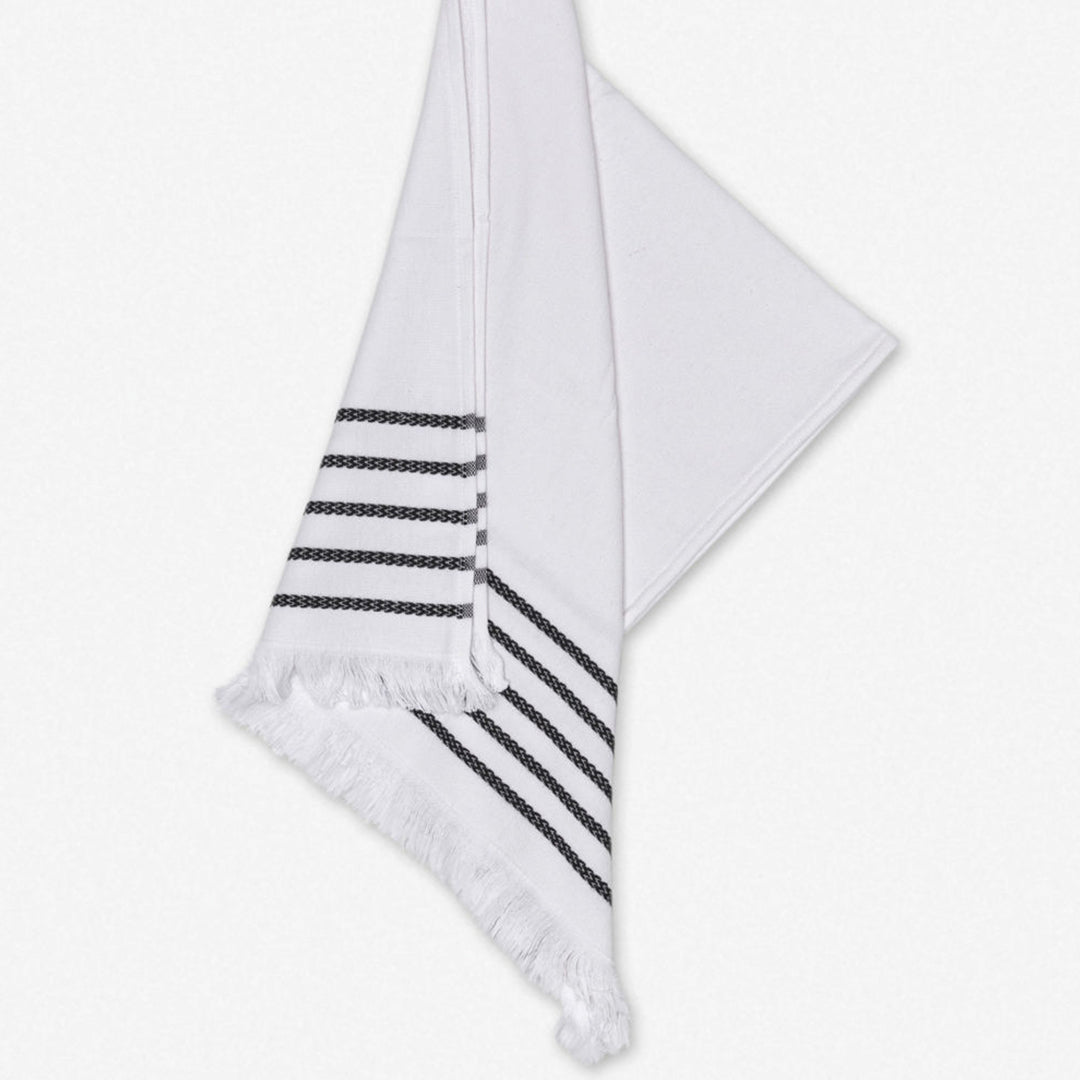 Lila Hand Towel - White