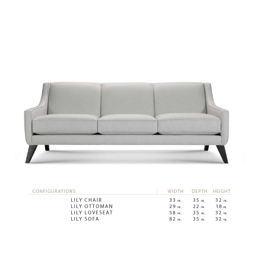 "Lily 58"" Loveseat"