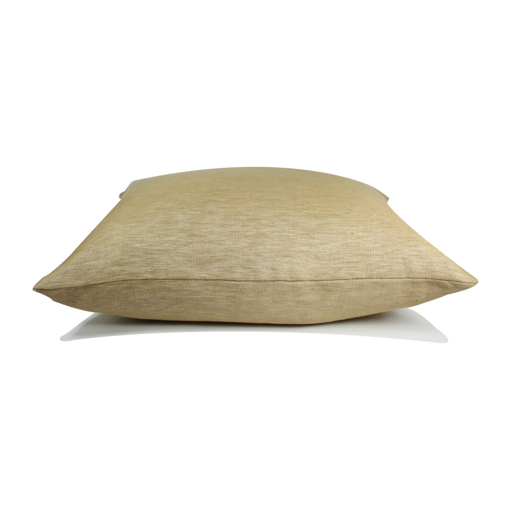 "Livia Pillow - Ochre - 20"" x 20"""
