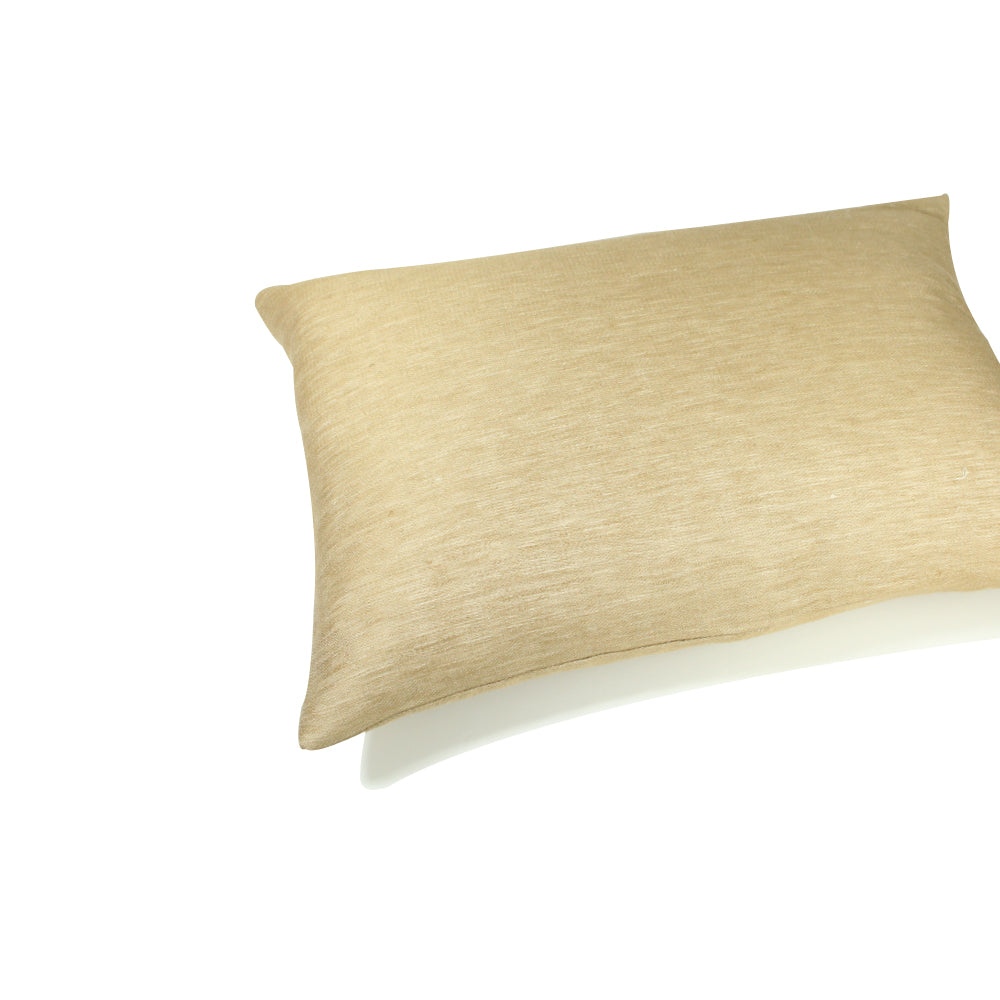 "Livia Pillow - Ochre - 20"" x 14"""