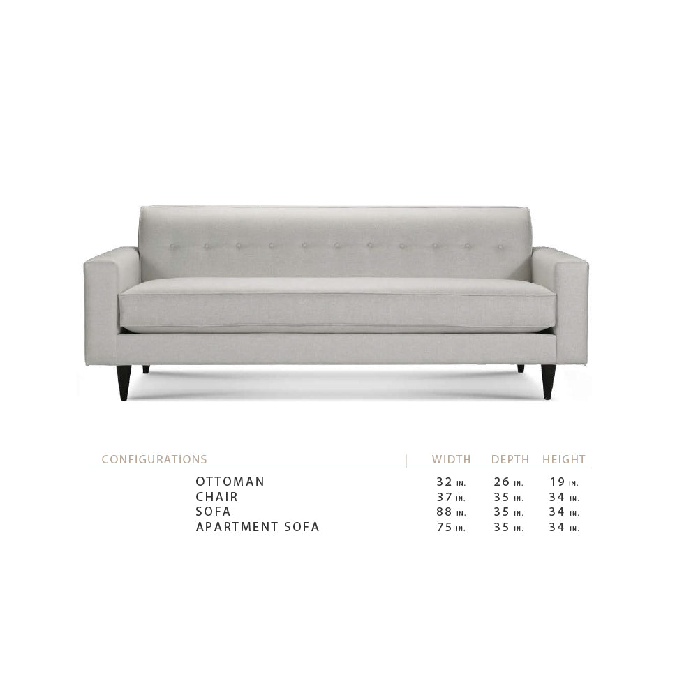 "Michael 75"" Apartment Sofa"
