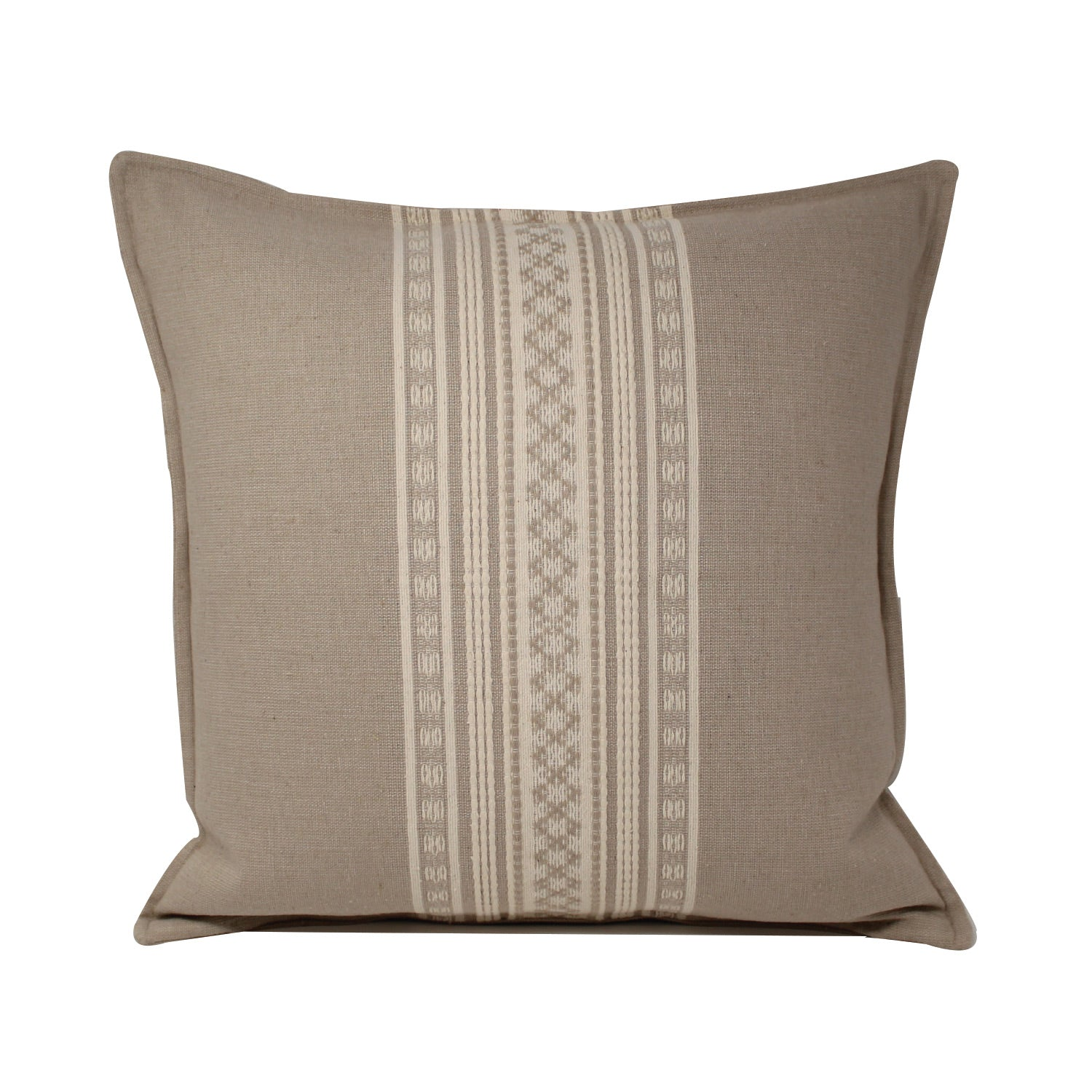 Nubari Handwoven Pillow - Oatmeal