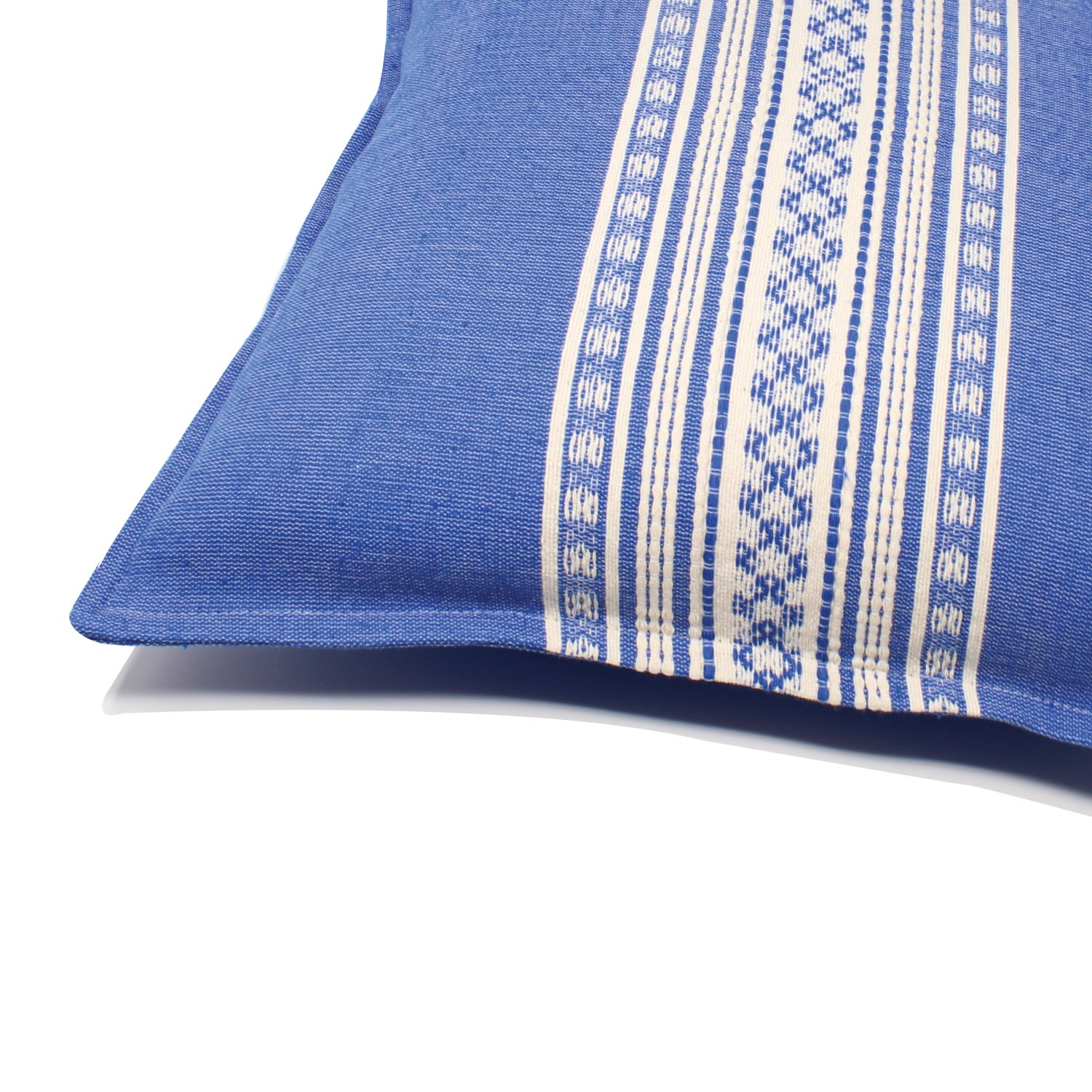 Nubari Handwoven Pillow - Indigo Blue