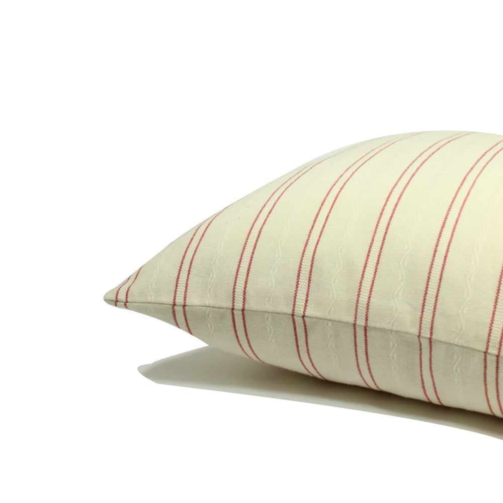Polanco Stripe - Cream / Red