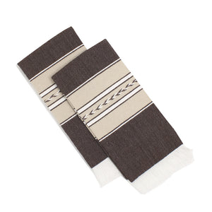 Romero Handwoven Napkin - Brown