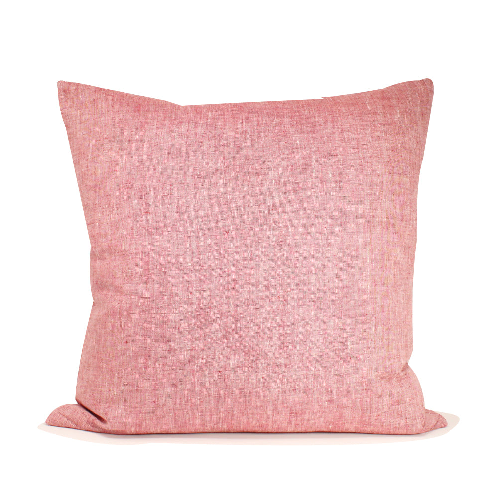 "Livia Pillow - Rose 20"" x 20"""