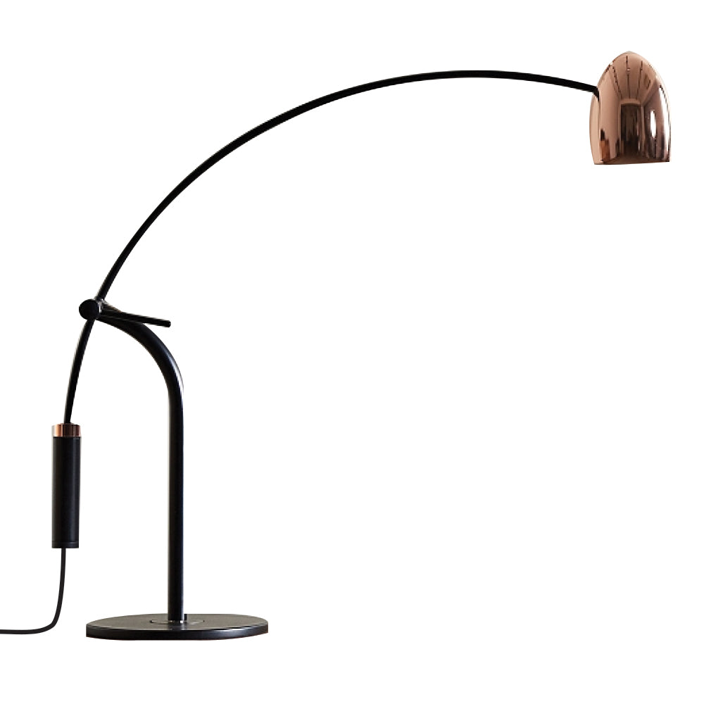 Hercules Table Lamp - Matte Black / Copper