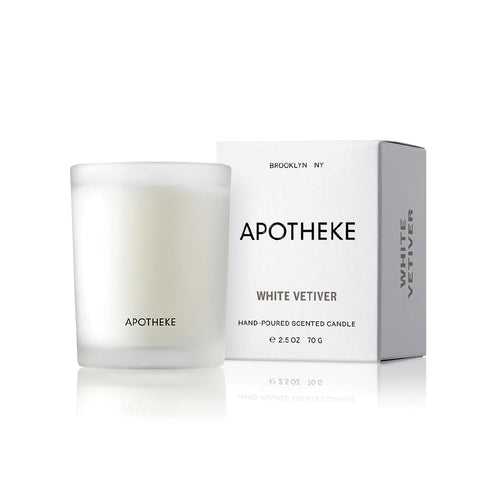 White Vetiver Hand-poured Votive Candle - 2.5 oz.