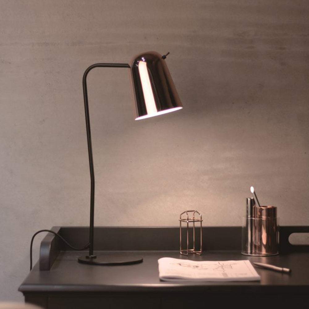 Dobi Table Lamp - Matte Black / Copper
