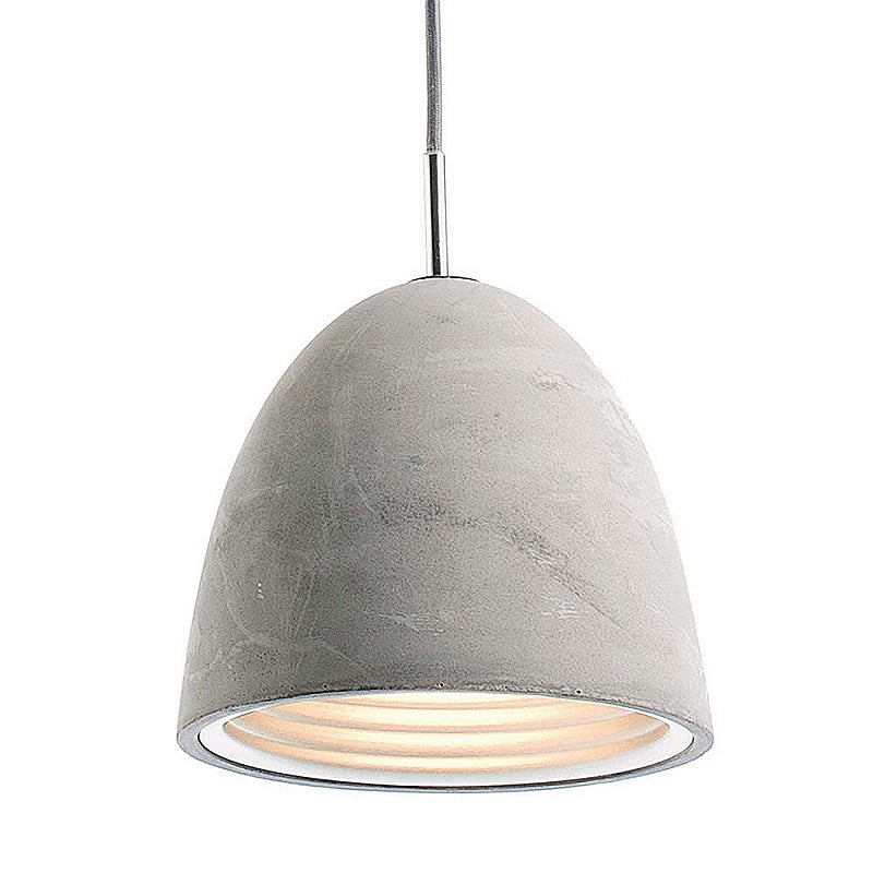 Castle Medium Pendant - Concrete