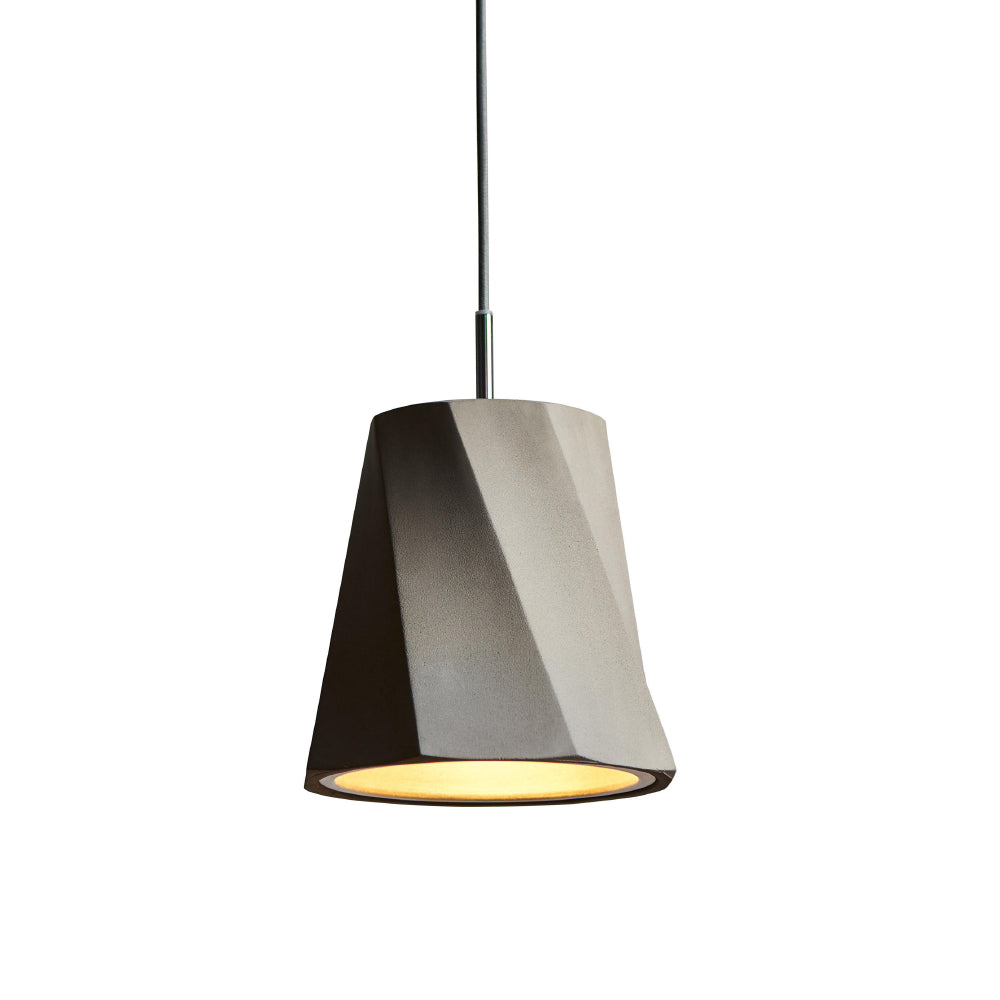 Castle Swing Pendant - Concrete