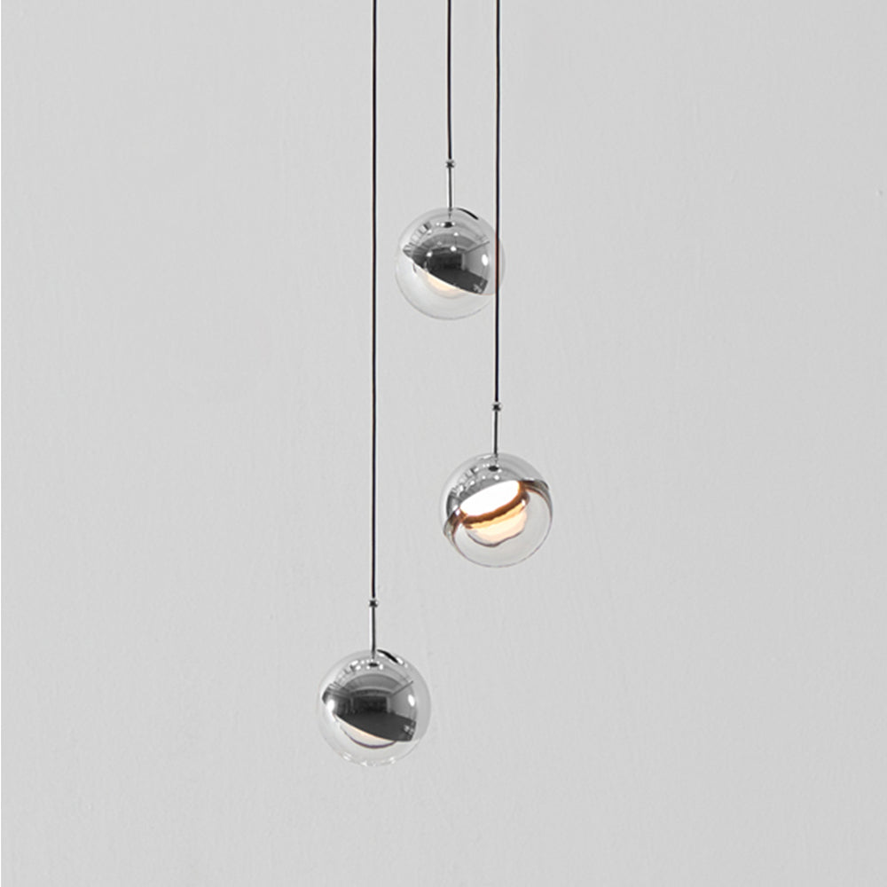 Dora 3 Light Pendant -  Chrome