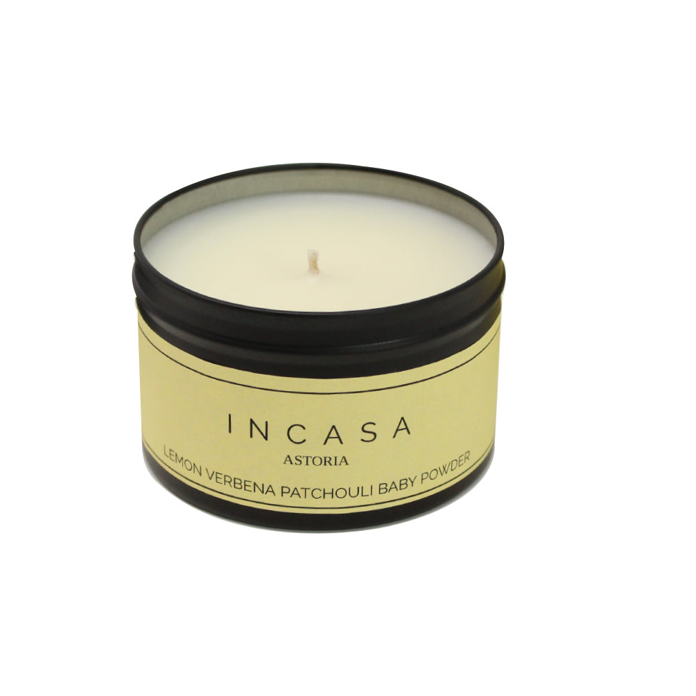 Incasa Candle - Lemon Verbena Patchouli