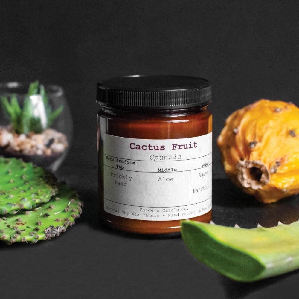 Cactus Fruit - Vegan Soy Wax Candle