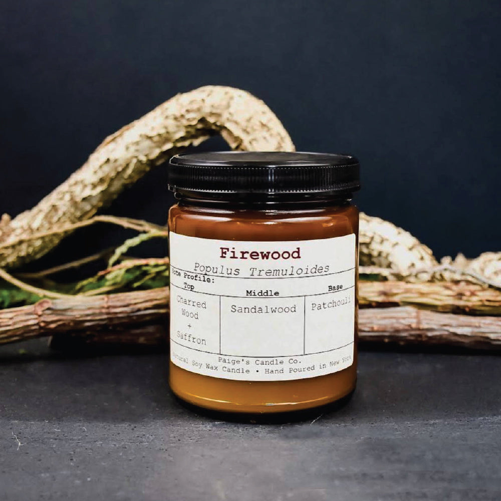 Firewood - Vegan Soy Wax Candle