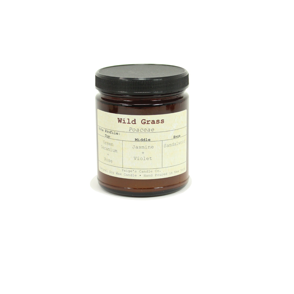 Wild Grass - Vegan Soy Wax Candle