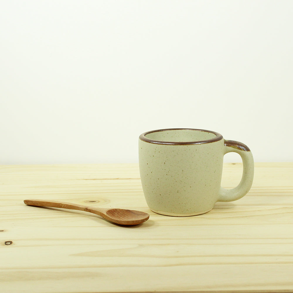 Coffee Cup - Oatmeal Matte