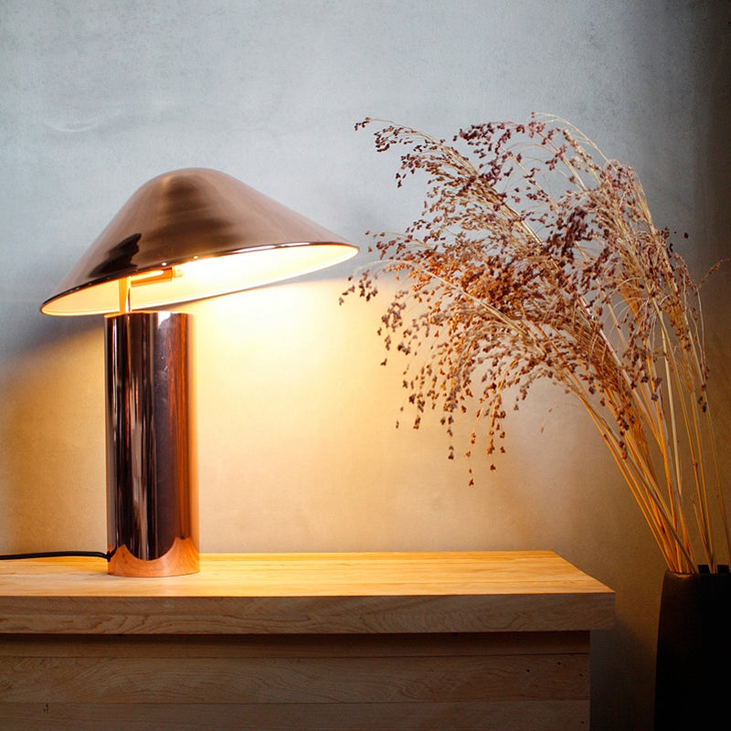 Damo Table Simple Lamp - Copper