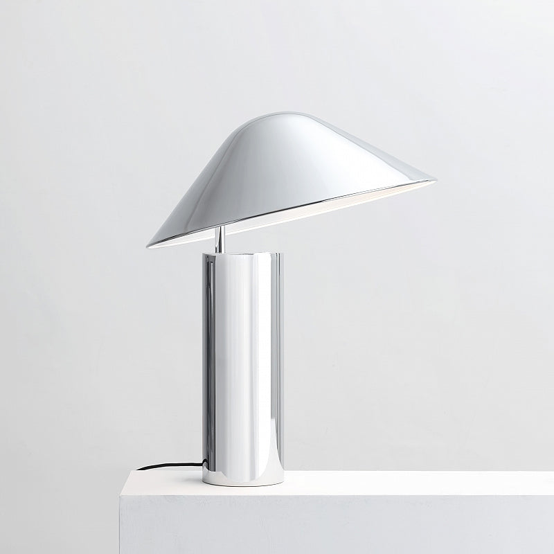 Damo Table Simple Lamp - Chrome
