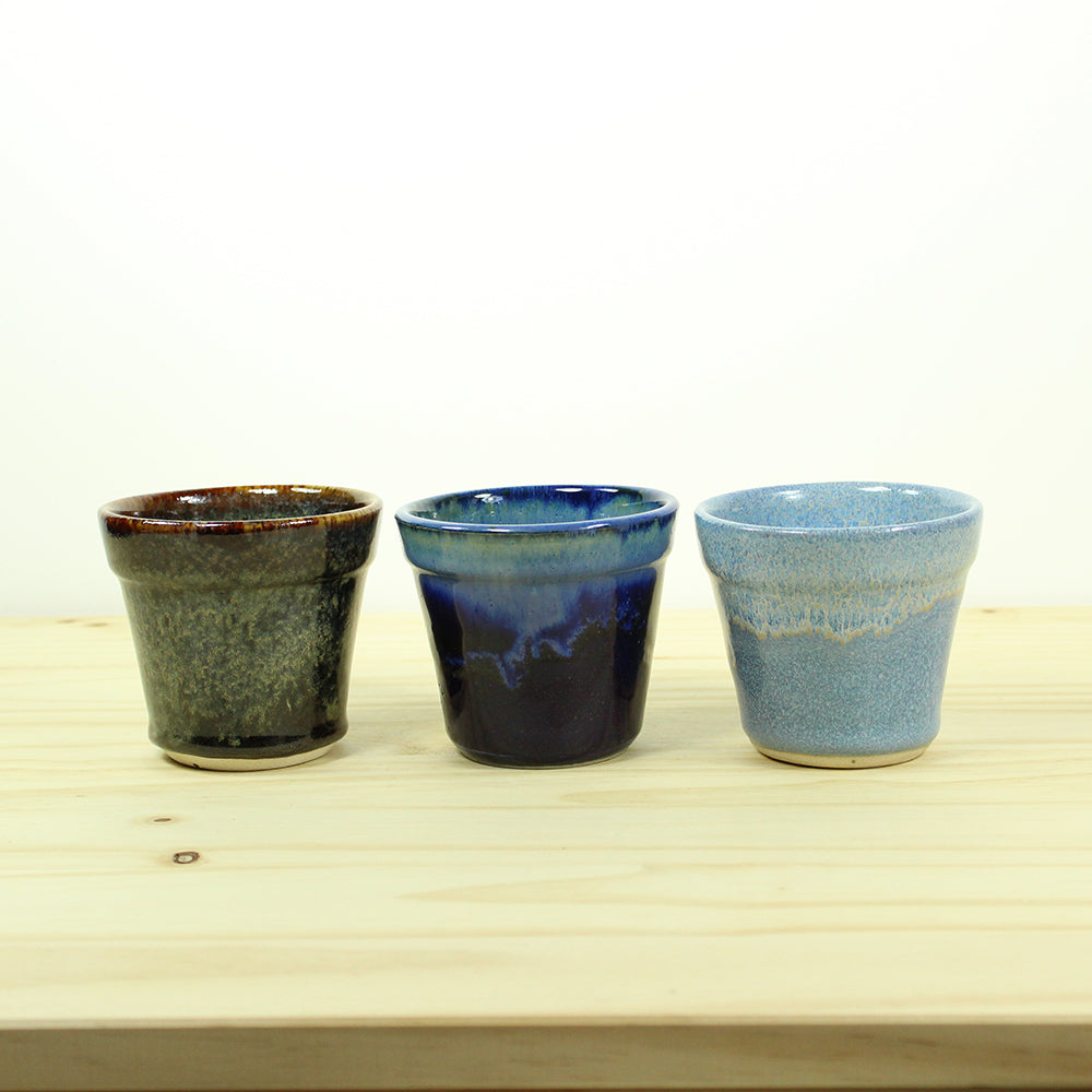 Nube Mini Planter - Dark Blue