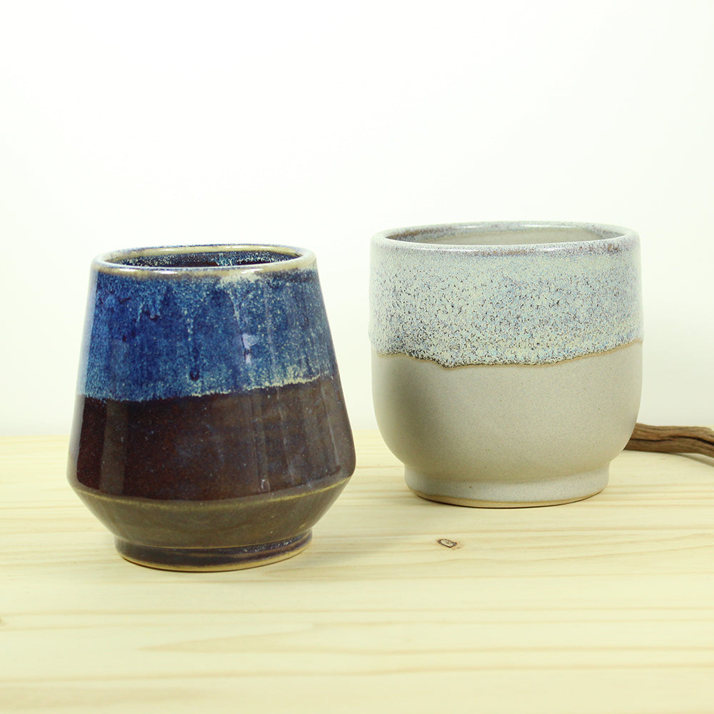 Clara Planter - Purple / Blue