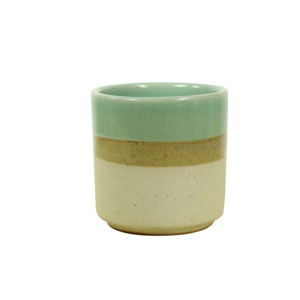 Nube Planter - Oatmeal / Sea foam / beige