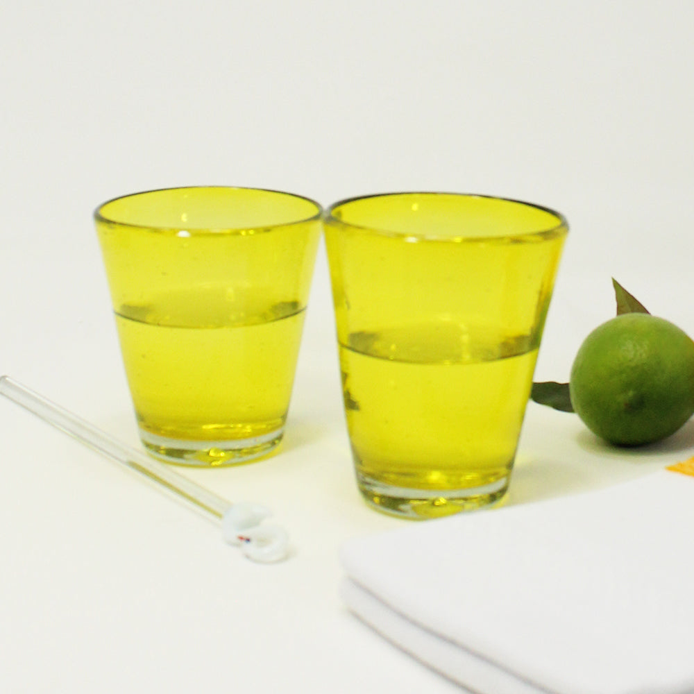 Spring Glasses Gift Set - Yellow