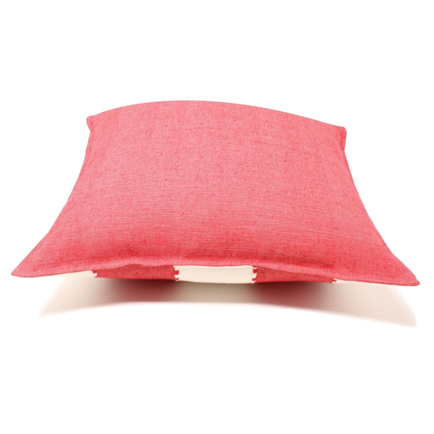 Mitla Handwoven Pillow - Cranberry