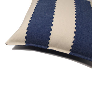 Mitla Handwoven Pillow - Indigo