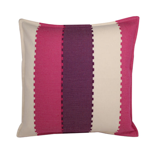 Mitla Handwoven Pillow - Pink Lavender