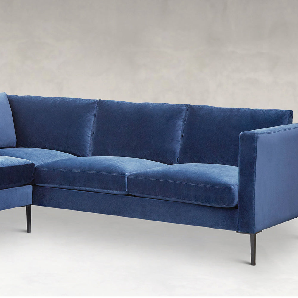 Slim  Sectional - Left Chaise