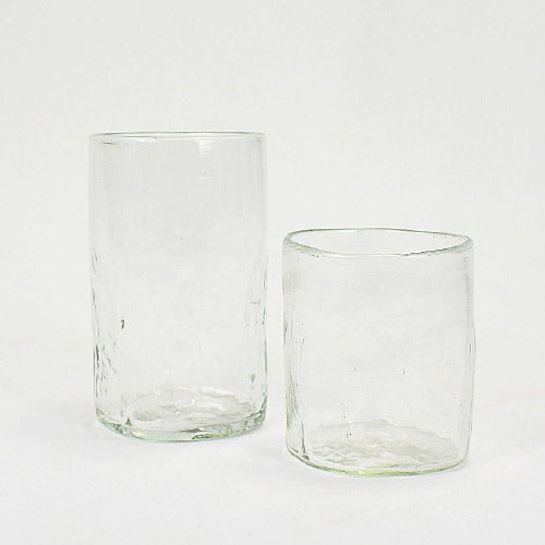 Lena Handblown Large Glass - Clear