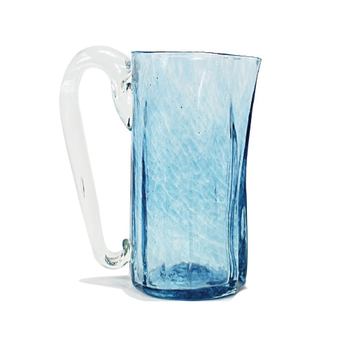 Lena Handblown Pitcher - Ocean