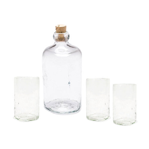 Lena Handblown Mezcalero Glass - Clear