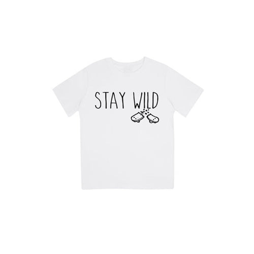 T-shirt stay wild