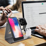 3 in 1 Wireless Fast Charger for iPhone, Airpods and Apple Watch
