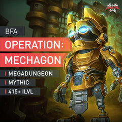 Operation: Mechagon Megadungeon Boost Run