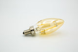 No.5F Candelabra Vintage-Inspired Light Bulb: Soft Brightness, Filament