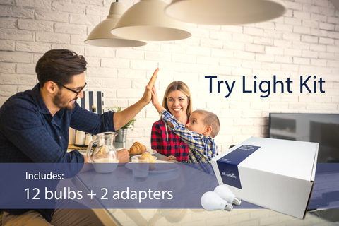 Try out LED bulbs free.