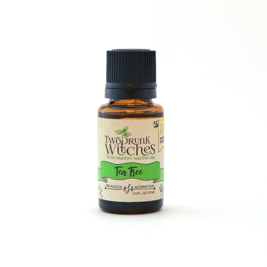 Tea Tree 100% Pure Essential Oil (.5 fl. oz./15 mL)