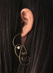 Earrings 2 (gold)