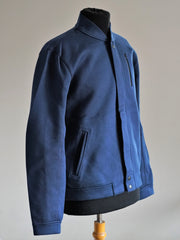 Weekend neoprene Jacket_INDIGO