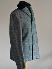 Double breasted Herringbone Jacket