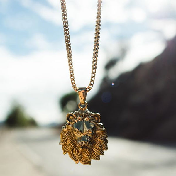 Lion Pendant Chain