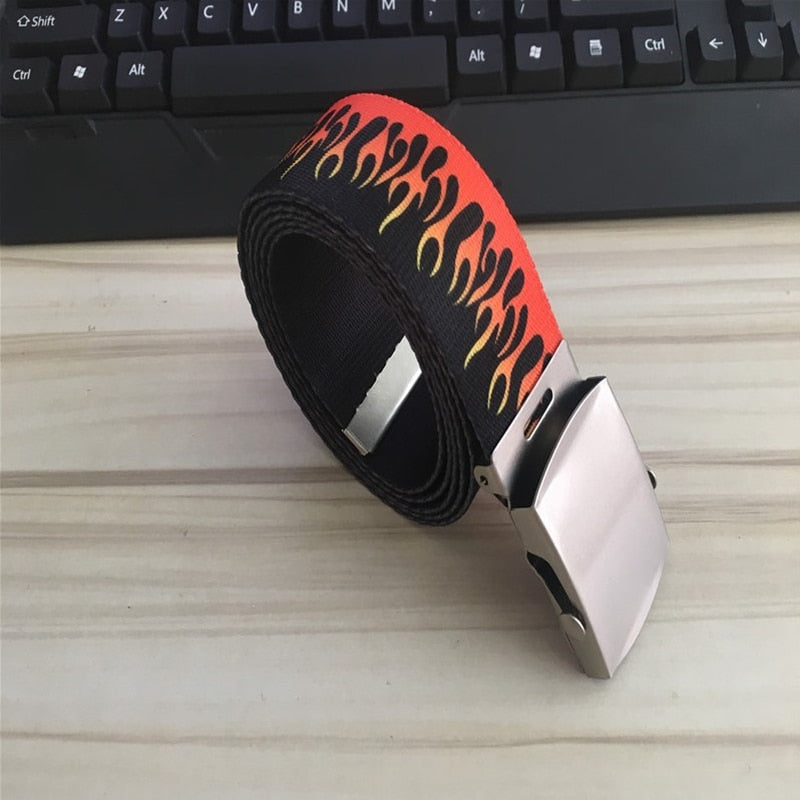 Double Flame Buckle