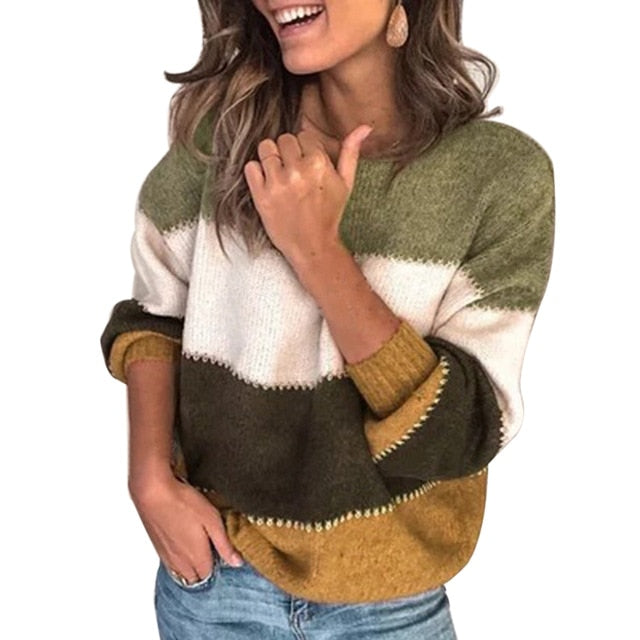 Winter Patchwork Jumpers