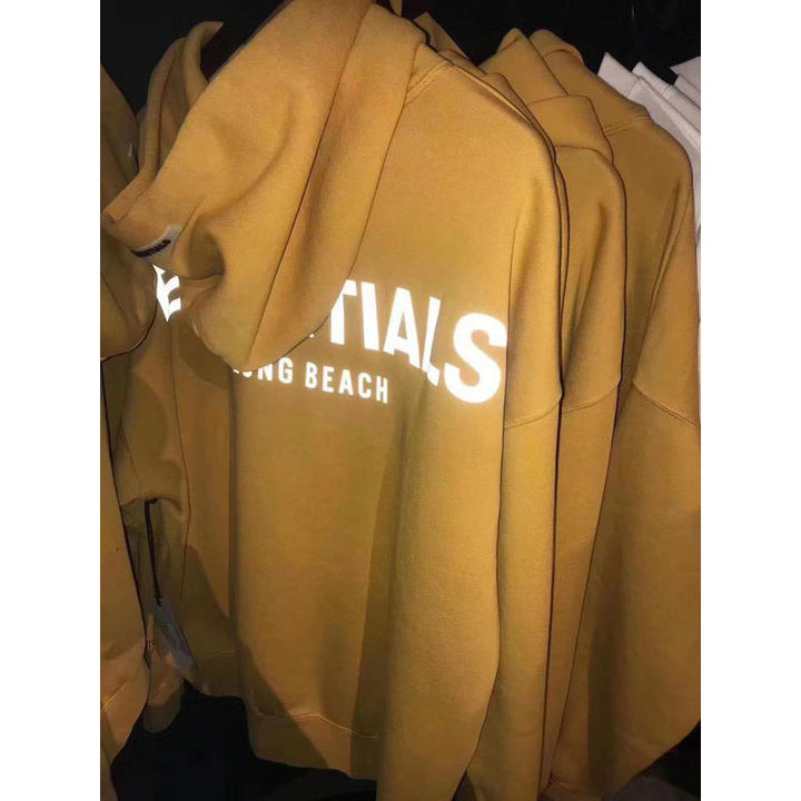 Essentials Long Beach 3M Reflective Hoodie