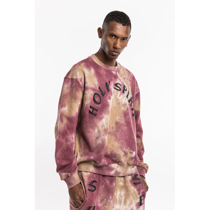 Exclusive West Calabasas Tie-Dye Sweater