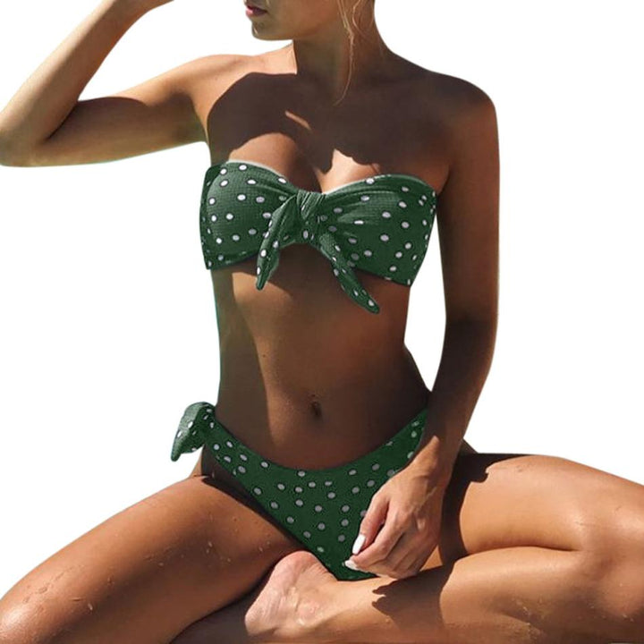 Cute Polka Dot Kini