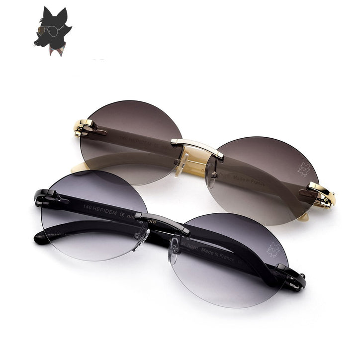 Round Sunglass Luxury Eyewear